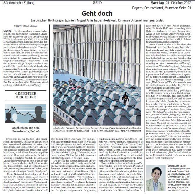 Chamberi Valley Sueddeutsche Zeitung