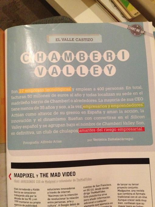 chamberi valley